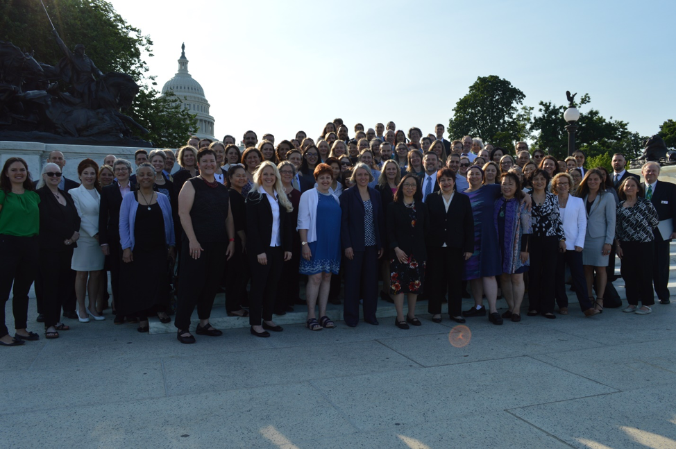 Caption: Nearly 200 ASA members visited House members of Congress asking for their support of the Integrative Health and Wellness Caucus and other legislation.